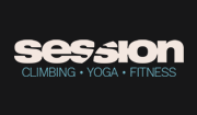 Session climbing yoga fitness Logo 180px